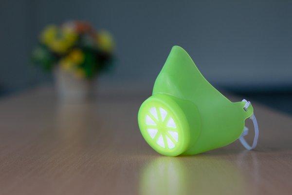 Alltagsmaske Grün