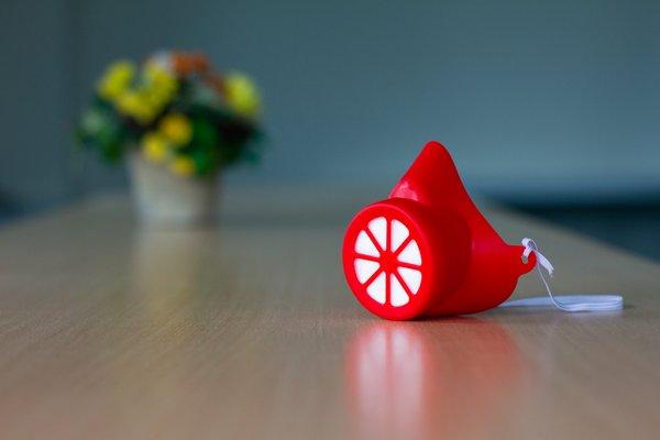 Alltagsmaske Kinder Rot